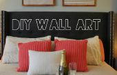 Activar regalo papel de regalo en el arte de la pared