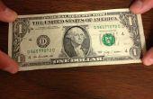 Cómo hacer un Bowie de un billete de dólar