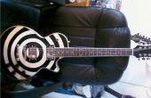 Cómo hacer una guitarra de estilo Zakk Wylde Bulls-eye