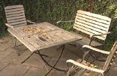 Cómo renovar muebles de jardín de teca