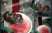 Trufas de Oreo y fresa cono de nieve