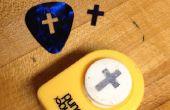 Pick de guitarra / antideslizante / agujero-puch-esperanza
