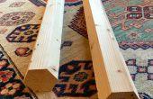 Fácil poste Hexagonal de madera de 2 por 4