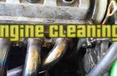 Limpieza de la suciedad de mi motor.