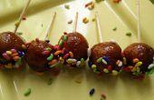 Instantánea del pan Gulab Jamun – postre indio / dulce receta