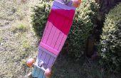 Un longboard de parquet