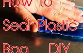 Sellar bolsa de plástico en casa