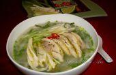 Receta de sopa de fideos Pho de pollo (Pho Ga)