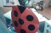 "Traje del Ladybug de última hora. ""Ultima hora"" del disfraz de Mariquita."