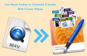 Utilizar iBook autor a personalizar E-books con iTunes Videos