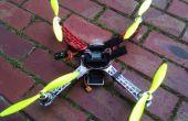 Edificio Quadcopters, aviones no tripulados y de Uav-una explicación y fácil construir de un Quad básico.