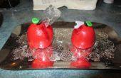 Cupcakes de manzana del veneno