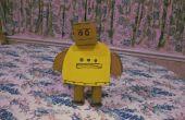 ¿Cómo hacer un Instructables Robot 3D de cartón