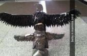 ESCULTURA del águila 3D