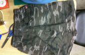 Pantalones cortos en bolsa de transporte