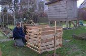 Construir una compostera de paletas