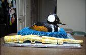 Pastel de caza de pato