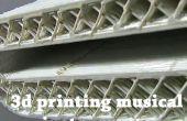 Instrumentos musicales de impresión 3D