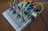 Arduino Combi-botón de bloqueo con soporte opcional de iOS/Android
