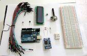 Termohigrómetro con reloj y pantalla LCD en Arduino UNO