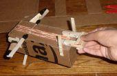 Avión lanzador de ballesta de papel