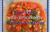 Fácil Un-Processed guisado tomate