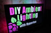 BRICOLAJE iluminación ambiental con Hyperion. Trabaja con fuentes de audio/vídeo HDMI || Frambuesa Pi