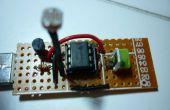 USB luz de noche (LM385 sensor de luz)