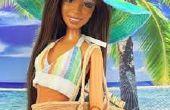 Sombrero de playa de la muñeca de American Girl DIY!