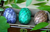 Juego de tronos Dragon huevos