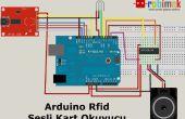 Proyecto de lector de tarjeta RFID voz
