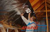 Cómo instalar barrera radiante en vigas del áticos en 5 pasos