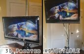3D impreso escritorio pie ajustable para bajo $50