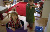 """Más sencillo posible a los niños juguetes - Camping Mat plus imaginación de un niño de espuma = """"coche"""""""