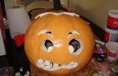 Traje de Halloween cabeza de calabaza