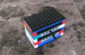Mecanismo de engranajes de LEGO Technic unidireccional