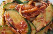Plato coreano - pepino picante (Oi-muchim)