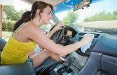 Guía de A-z en la limpieza Interior del coche con seguridad