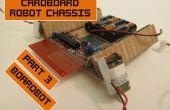 Chasis de cartón para Robots baratos 3: Boardbot