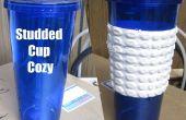 Tachas Cup Cozy: 3d flexible impreso correa tachonada para mi copa