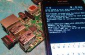 Configuración de frambuesa PI Wi-Fi (para móviles)