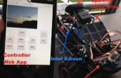 Rover de monitoreo ambiental - impulsado por Intel Edison