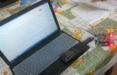 Control de VLC Media Player con control remoto IR