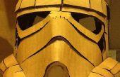 Casco de Stormtrooper cartón