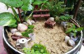 BRICOLAJE jardín miniatura