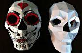Bono: Máscara de cráneo de Papercraft