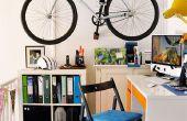 Soporte de pared barato para bicicleta