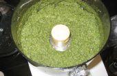 Pesto - receta con albahaca, ajo y piñones