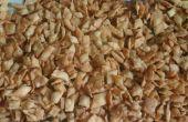 Todo propósito harina sabrosos aperitivos en tres variaciones simples.