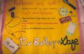 Gráficos de la información: las baterías son seguras